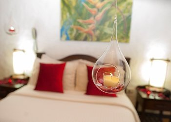 ROMANTIC NIGHT DECORATION Salento Real Eje Cafetero Hotel