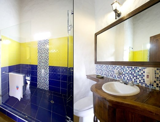 Comfortable bathrooms Salento Real Eje Cafetero Hotel