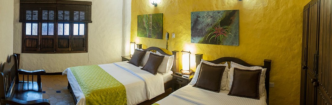 SUPERIOR TWIN ROOM Salento Real Eje Cafetero Hotel