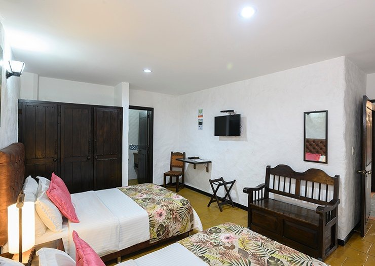 Superior twin room salento real eje cafetero hotel quindío