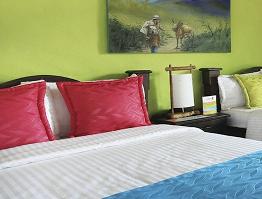 Double room Salento Real Eje Cafetero Hotel