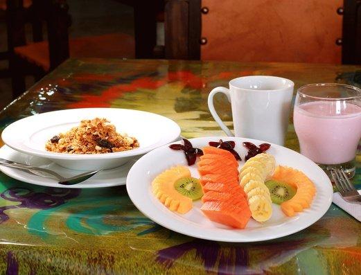 Rich breakfast Salento Real Eje Cafetero Hotel