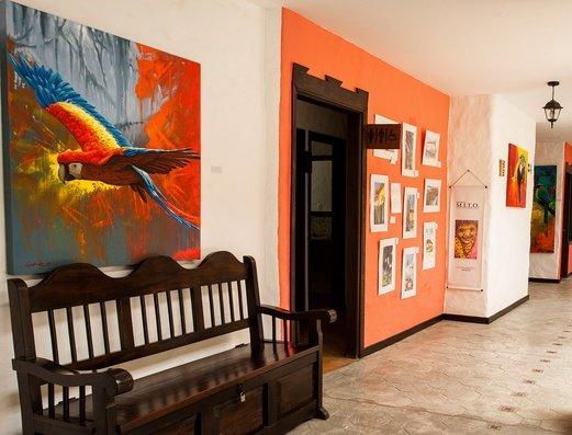 Hotel corridors Salento Real Eje Cafetero Hotel